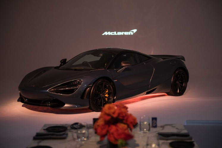 New McLaren 720S supercar