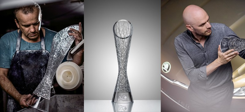 ŠKODA Design creates TdF winner trophies