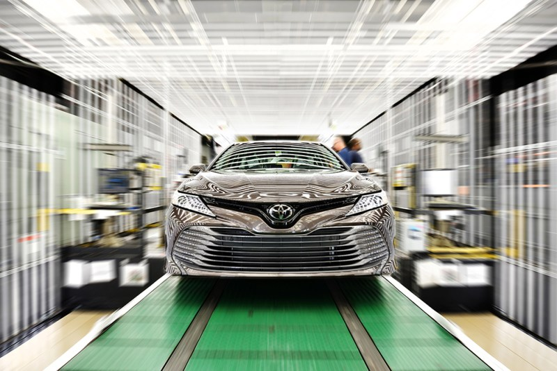 Toyota Kentucky launches production of cutting-edge Camry