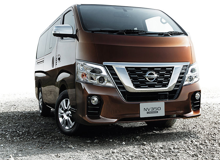 Nissan's redesigned NV350 Caravan goes on sale in Japan