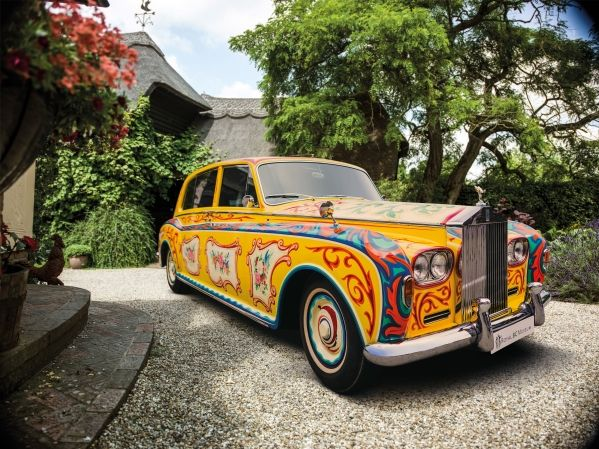 Rolls-royce Announces 'the John Lennon Phantom V' To Return To London During 50th Anniversary Of Sgt. Pepper's Lonely Hearts Club Band