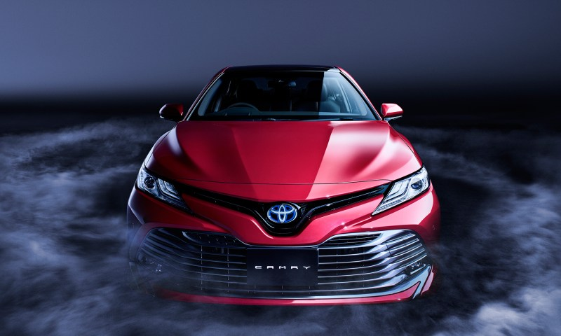 Toyota Unveils Completely Redesigned Camry