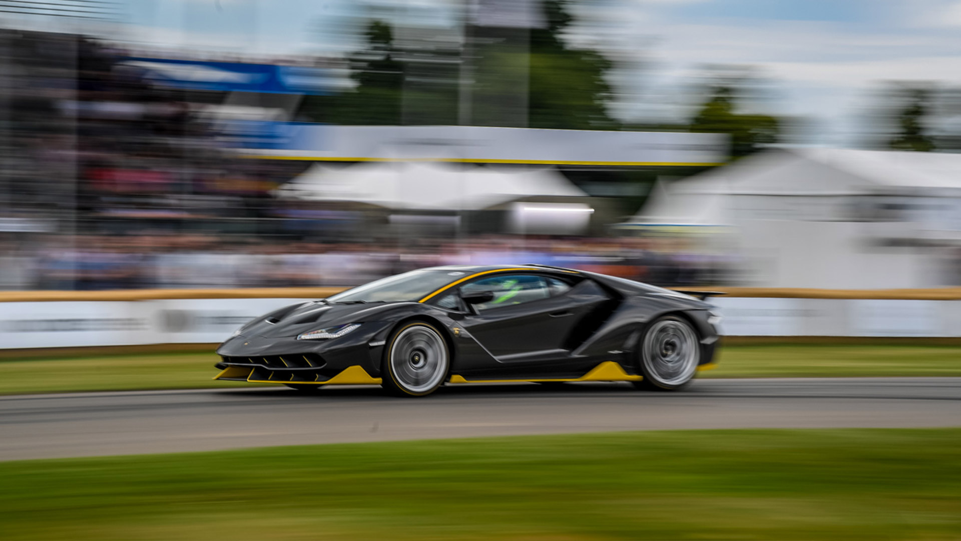 Lamborghini At Goodwood Festival Of Speed 2017
