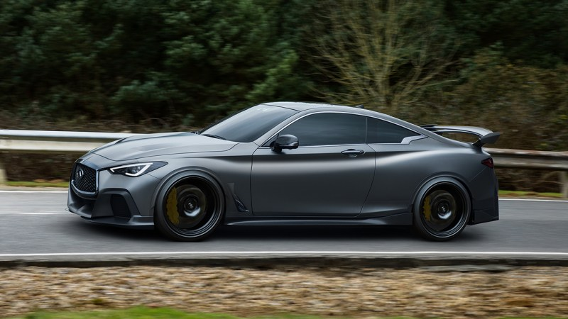 INFINITI and Renault Project Black S Concept