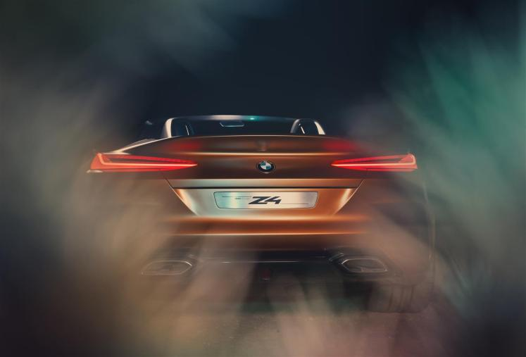 The BMW Concept Z4. Freedom on four wheels.