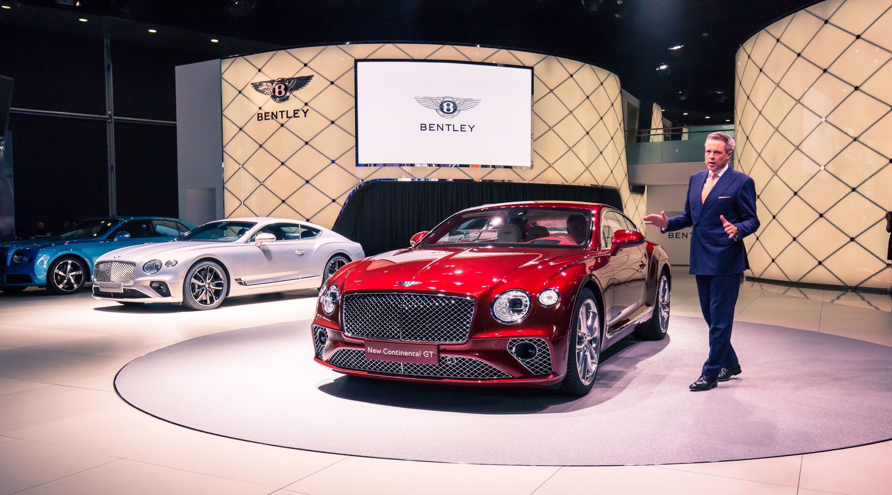 The all-new Continental GT made its global debut at the IAA 2017 in Frankfurt