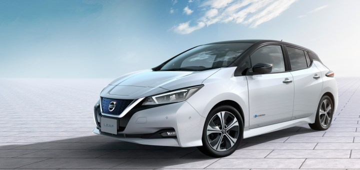 The new Nissan LEAF: raising the bar for electric vehicles