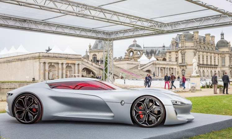 A fifth award for the Renault TREZOR concept car