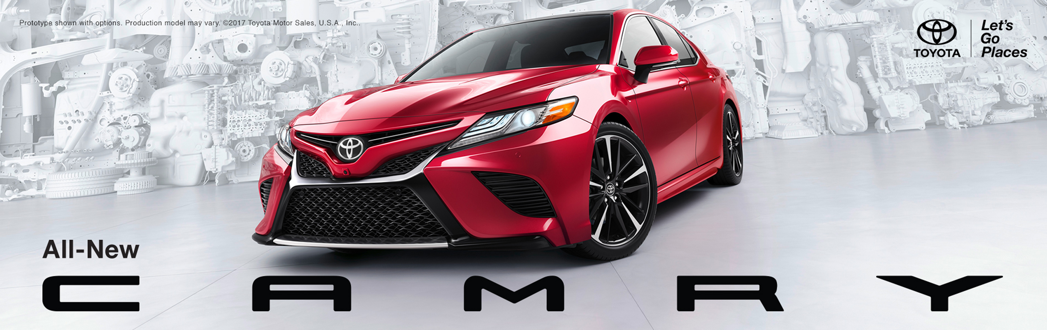All-New Toyota Camry Ignites the Senses