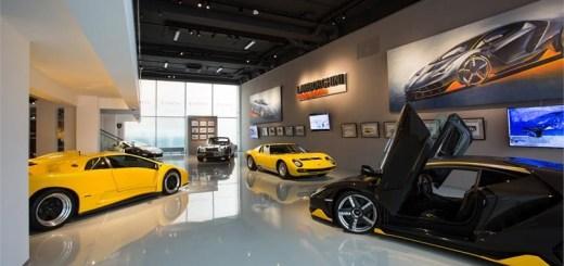 Lamborghini exhibition at Erarta Museum