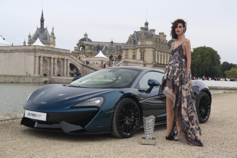 McLaren Automotive chooses Chantilly Arts & Elegance to showcase its two most recent new model introductions