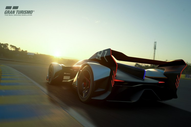 McLaren Automotive looks to the future with breath-taking Ultimate Vision Gran Turismo car in partnership with PlayStation 4 video game Gran Turismo Sport