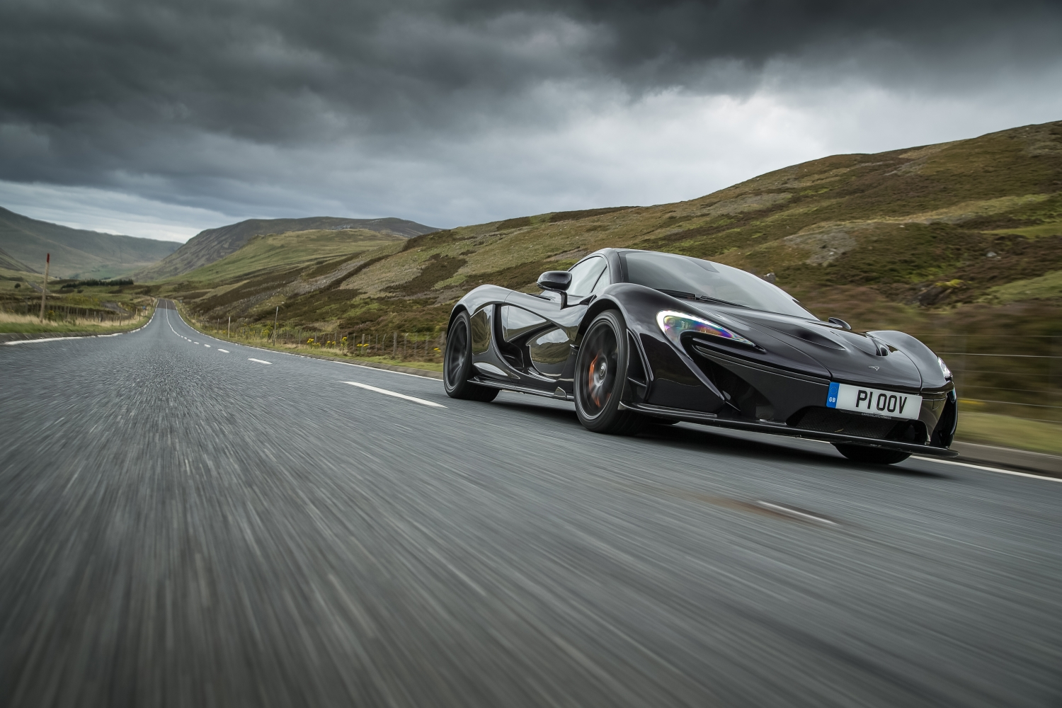 McLaren P1 hypercar celebrates half a decade in pole position