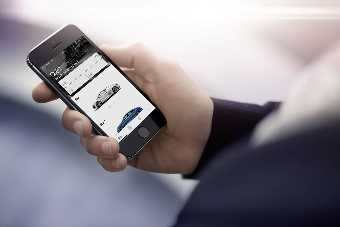 Premium mobility service Audi on demand+ launches in Beijing
