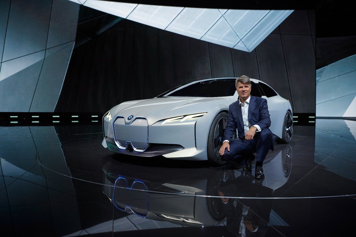 BMW at the IAA Cars 2017 in Frankfurt.
