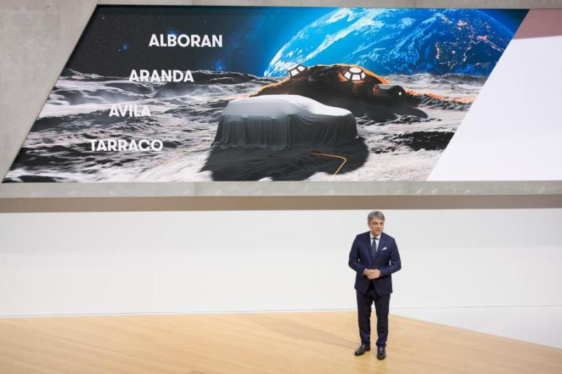 Seat's New Suv Will Be Named Alboran, Aranda, Avila Or Tarraco