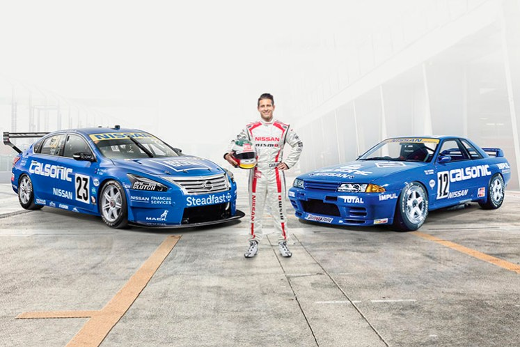 Nissan to race in classic Calsonic livery at Sandown