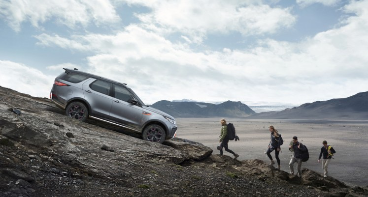 New Discovery SVX- Land Rover Reveals All-terrain Champion At Frankfurt IAA
