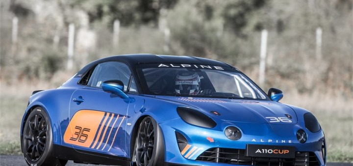 Alpine A110 Cup: a genuine race car made for Europe's greatest racetracks