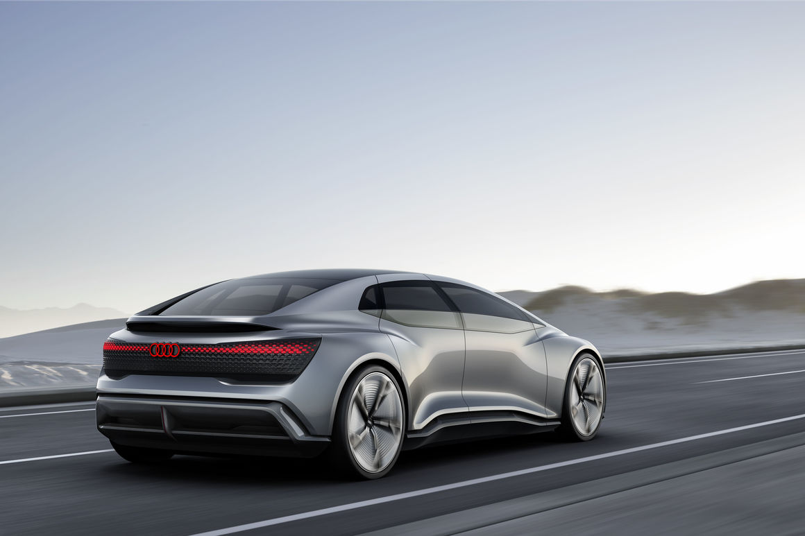 Audi Aicon concept car –  autonomous on course for the future