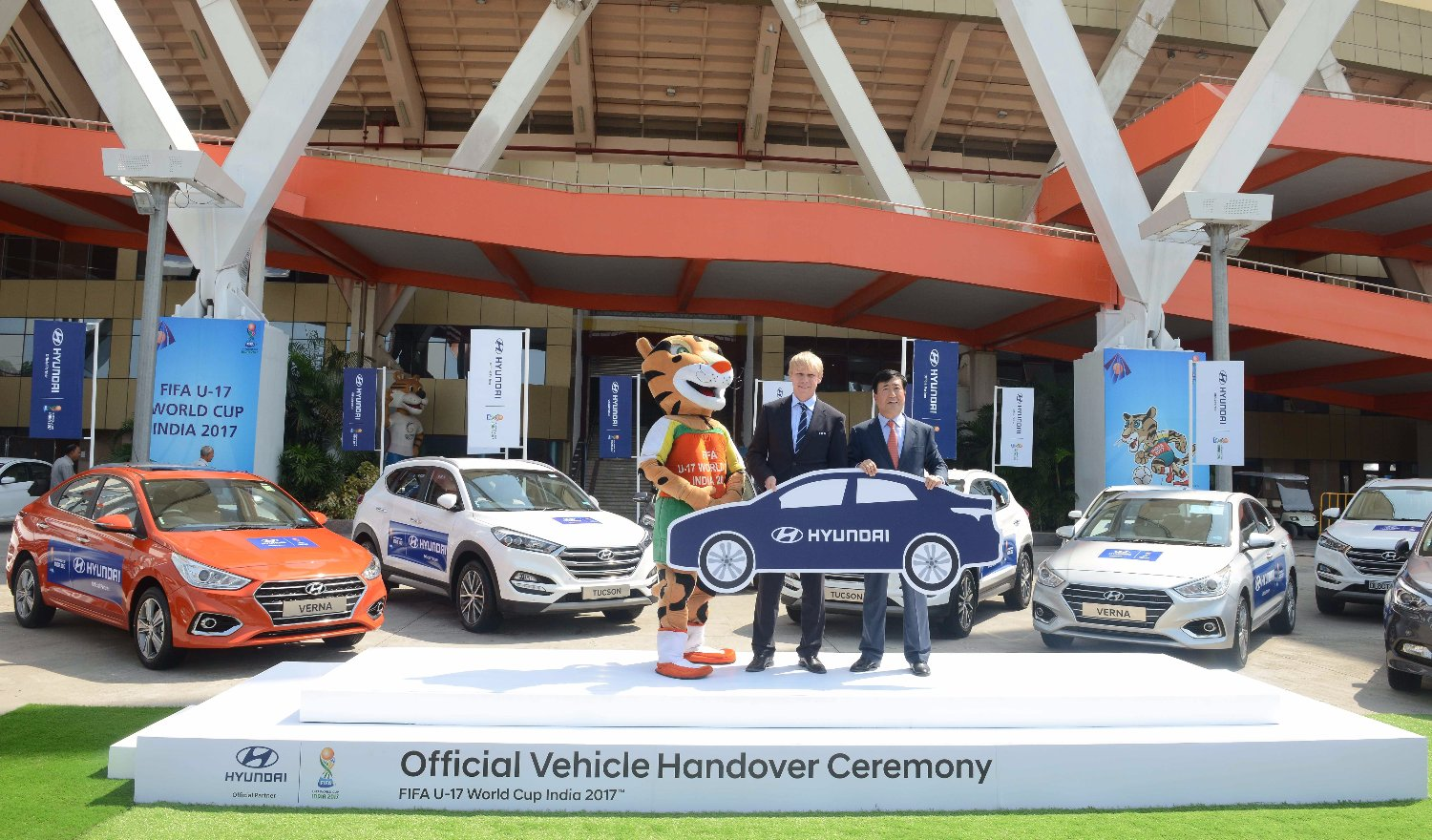 Hyundai Motor Partners with FIFA U17 World Cup Tournament as the Official Partner
