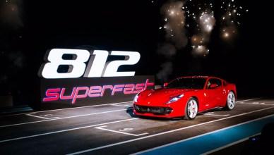 Ferrari 812 Superfast Premieres in Thailand