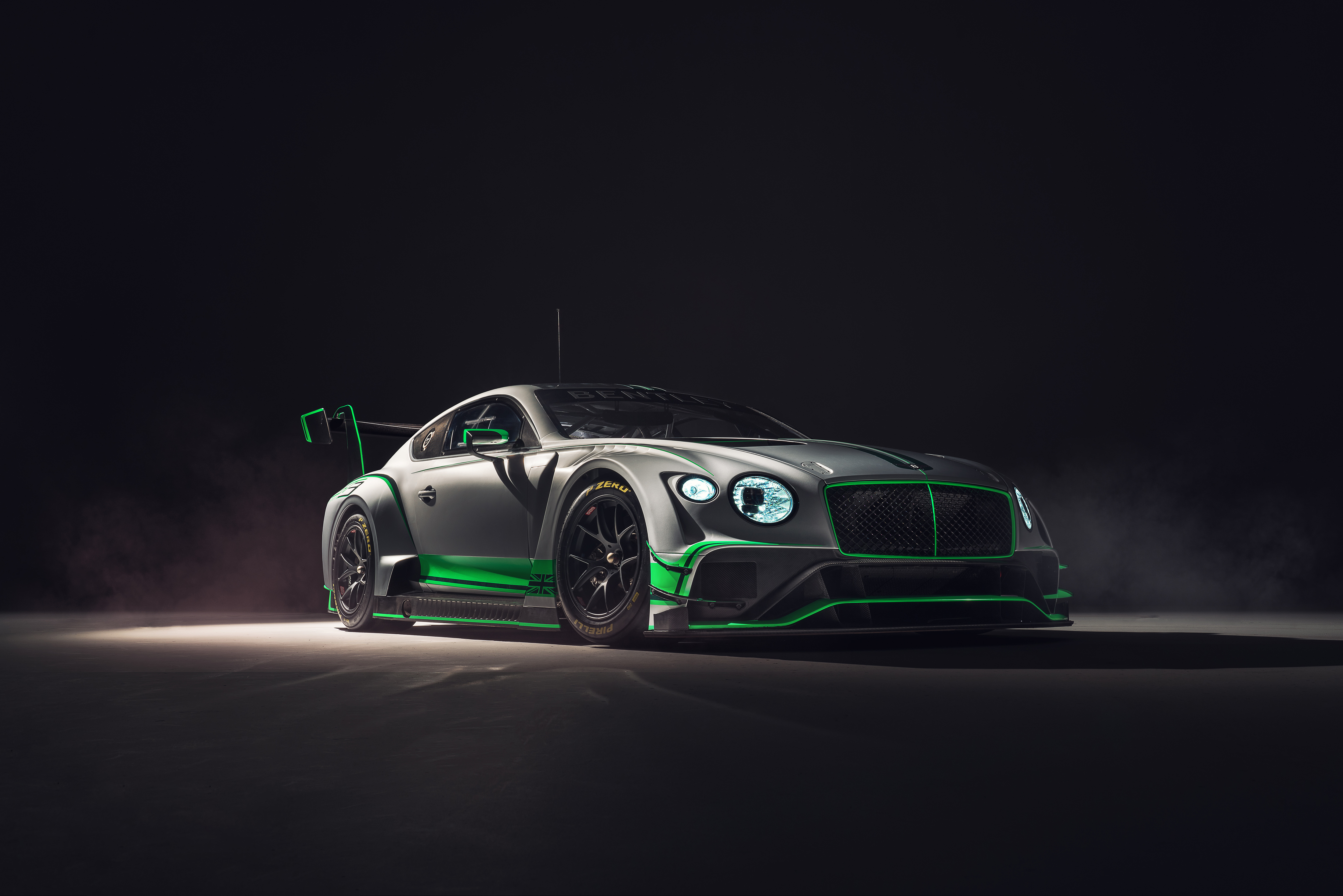 Bentley Reveals New Continental GT3 Race Car