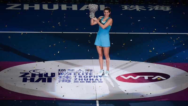 Julia Görges wins WTA Elite Trophy