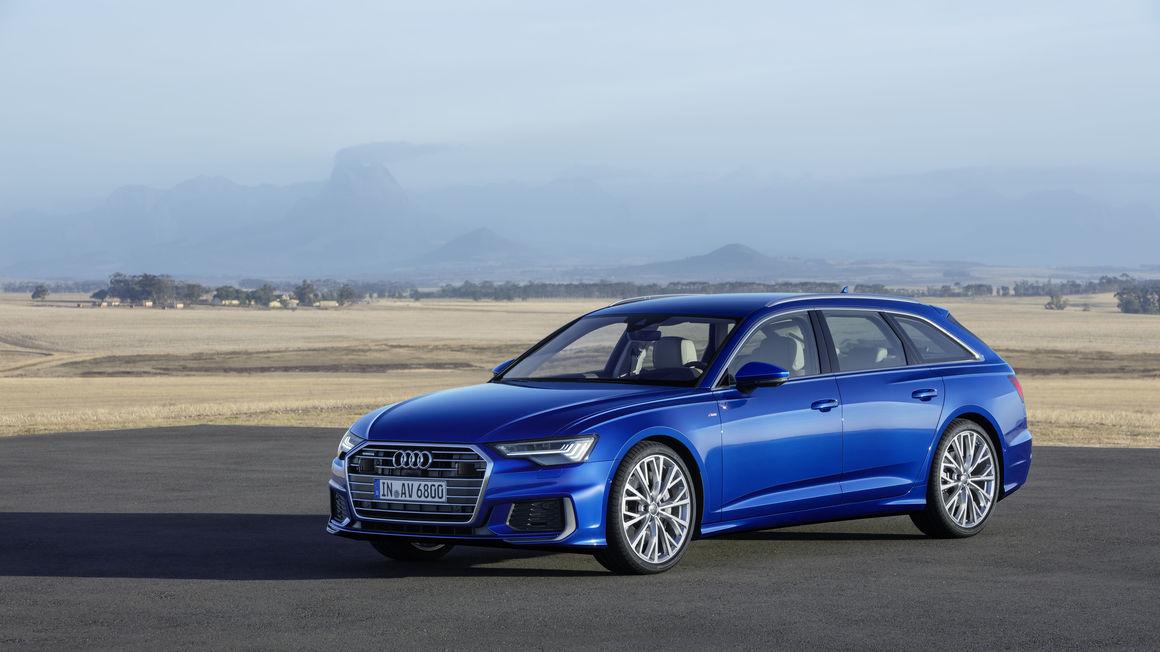 Avant-garde: the new Audi A6 Avant