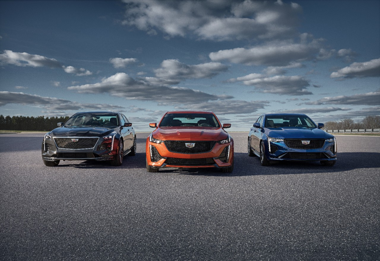 Cadillac Reveals First-Ever CT4-V and CT5-V