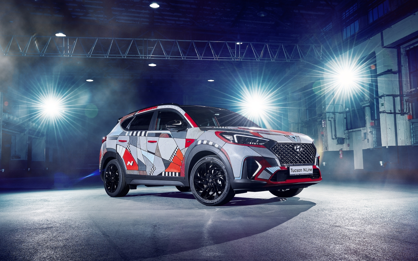 Hyundai celebrates launch of New Tucson N Line with unique art project