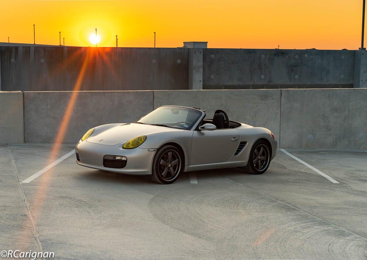 2005 Porsche Boxster at Sunset