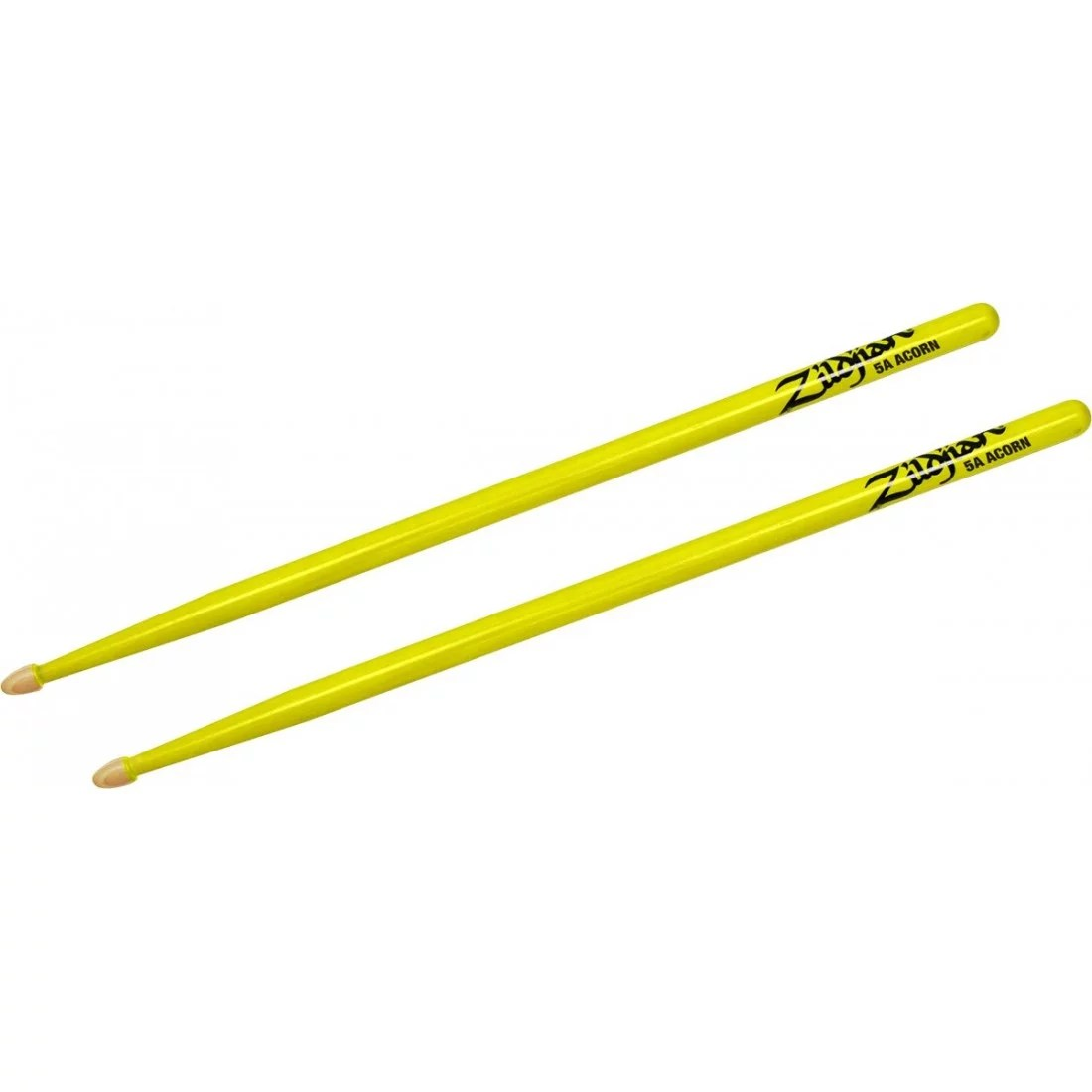 Baguettes Hickory Series 5A Acorn NEON YELLOW