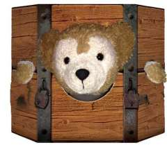 Duffy Disney Bear stuck in the Stockades Magic Kingdom