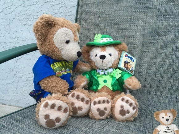 Duffy the Disney Bear with Saint Patrick's Day Duffy the Disney Bear