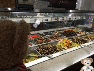 She'd go nuts over these olives!