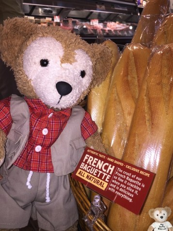 I love my fresh bread. It's great for my extra large sammiches at our Teddy Bear Picnics.