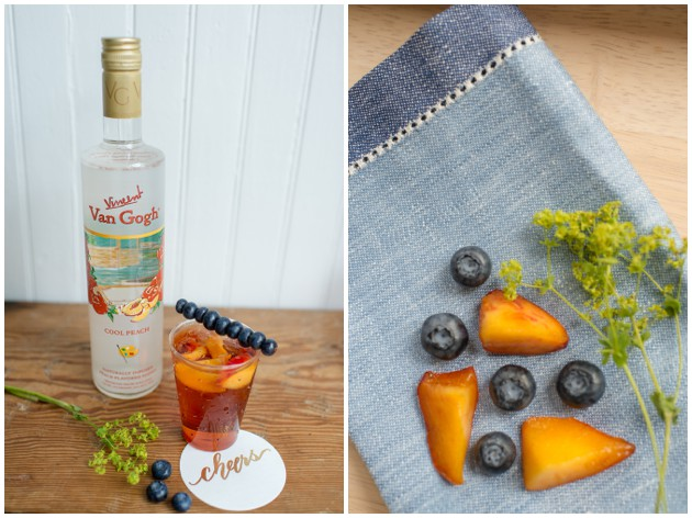 Peach Pomegranate Fizz Recipe