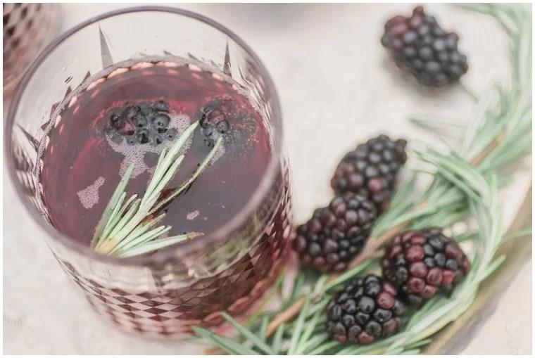 blackberry signature cocktail