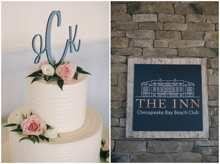 the inn at chesapeake bay beach club wedding