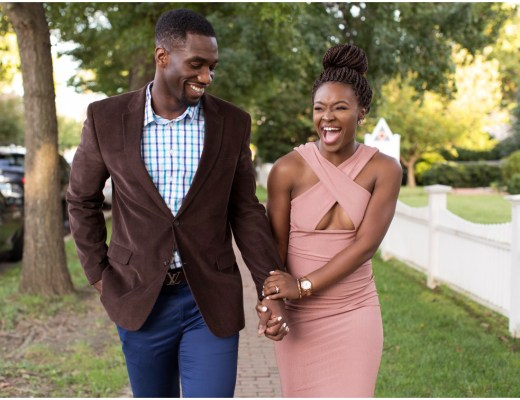 Historic Downtown Easton Engagement Session