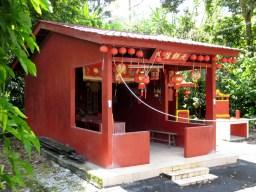 重新修建后的天师龙宫庙外观