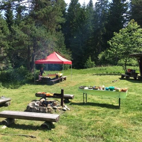 Outdoor Grill Schwarzwald