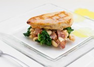 Smoked Chicken and White Bean Cassoulet