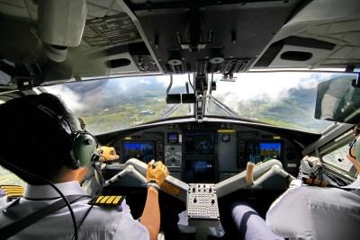 bario, pilots, borneo