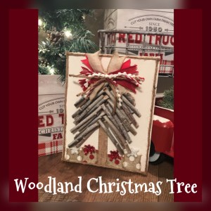 Read more about the article Woodland Christmas Tree Canvas