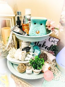 Tiered Tray DIY plus Decorating Tips!