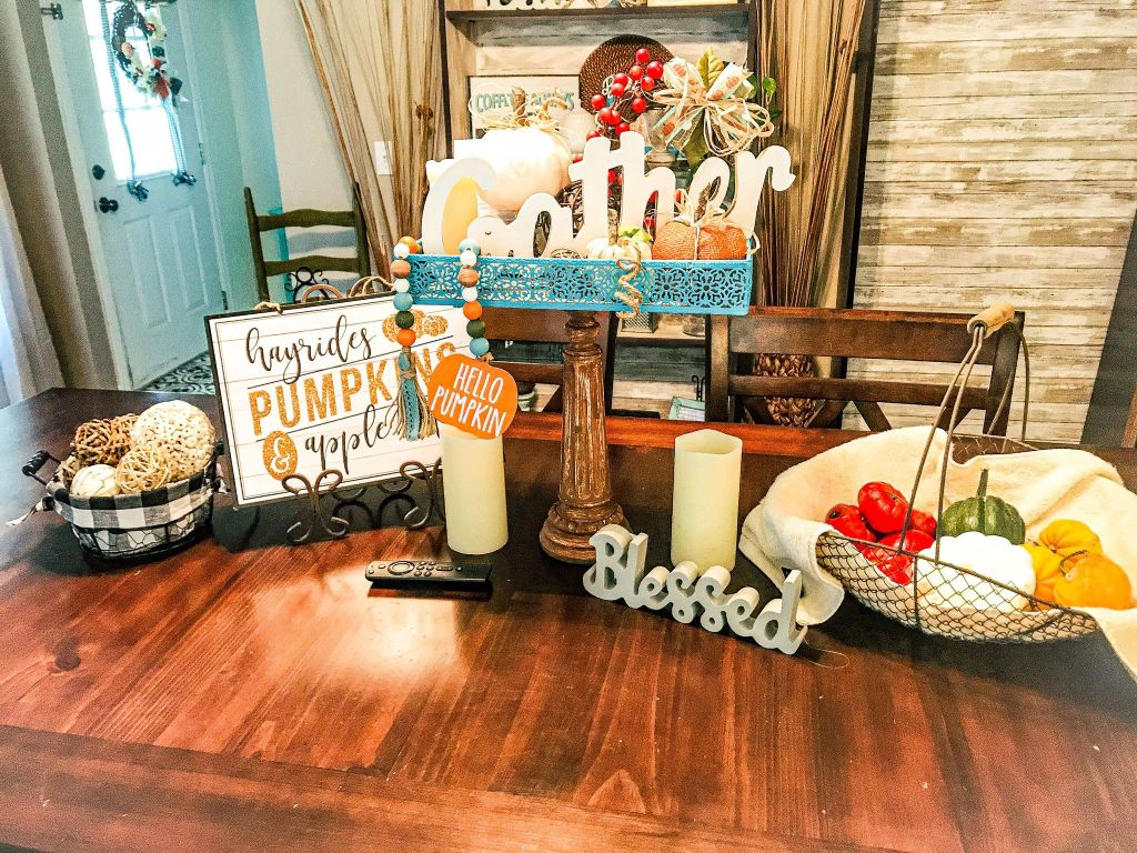 Pedestal Tray DIY | Fall Tray Decor Ideas | Thrift Store Upcycle