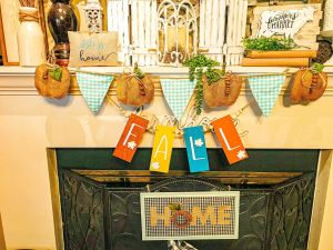 top 15 garland ideas | fall mantel decorations