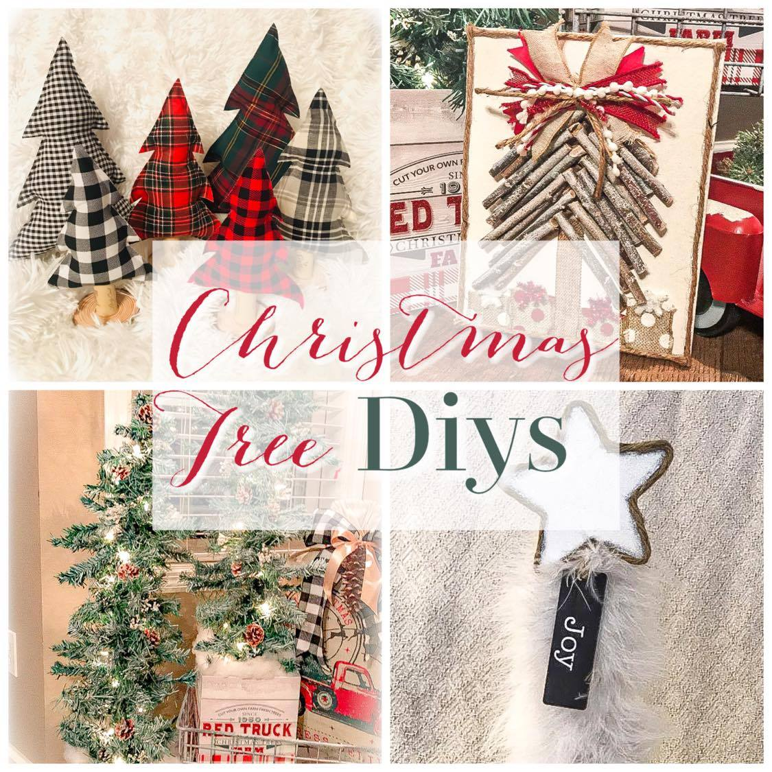Top Christmas Tree DIYs for the Frugal Crafter!